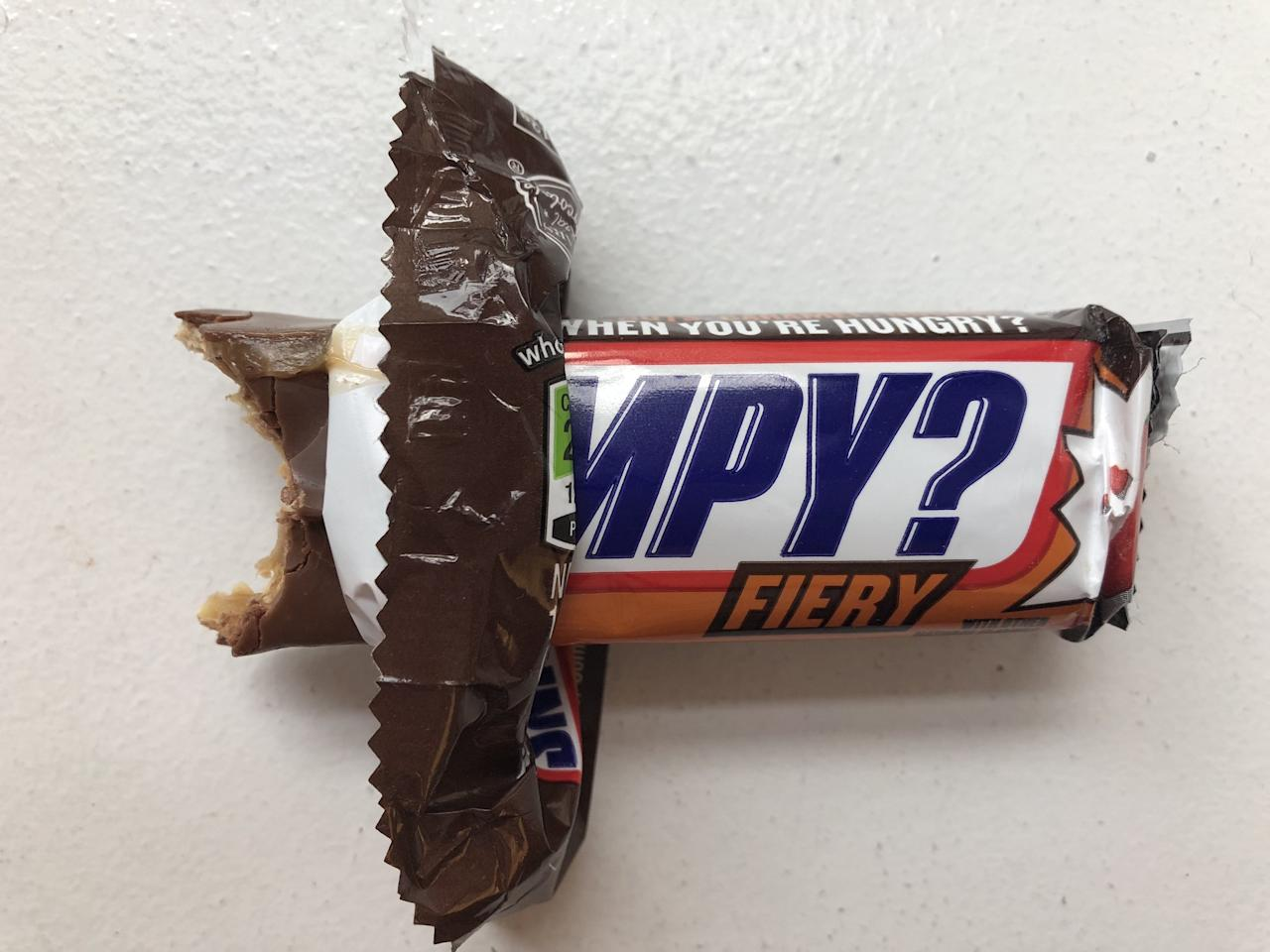 Get out your calendars, candy fans, because Snickers is going to have three new flavor options next Summer! As part of Snickers's Hunger Bar collection (you know - the bars with sayings on the wrappers about who you are when you're hungry), the new flavors include Fiery, Espresso, and Salty & Sweet.