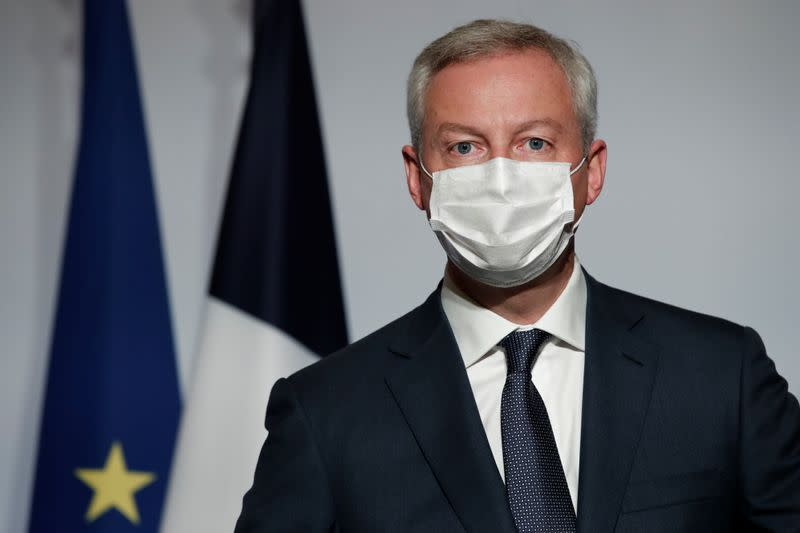 France needs new pandemic business insurance law - minister