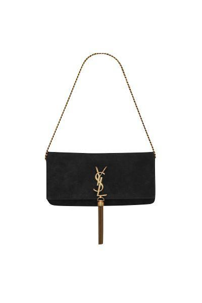 """<p><a class=""""link rapid-noclick-resp"""" href=""""https://www.ysl.com/gb/shop-product/women/handbags-monogram-kate-with-tassel-kate-99-with-tassel-in-suede_cod45493335th.html#dept=women_bags_new"""" rel=""""nofollow noopener"""" target=""""_blank"""" data-ylk=""""slk:SHOP NOW"""">SHOP NOW</a></p><p>The Kate bag is an instantly recognisable Saint Laurent design – and this soft suede version will instantly become a treasured piece in your wardrobe.</p><p>Kate 99 suede bag, £1,225, <a href=""""https://www.ysl.com/gb/shop-product/women/handbags-monogram-kate-with-tassel-kate-99-with-tassel-in-suede_cod45493335th.html#dept=women_bags_new"""" rel=""""nofollow noopener"""" target=""""_blank"""" data-ylk=""""slk:Saint Laurent"""" class=""""link rapid-noclick-resp"""">Saint Laurent</a></p>"""