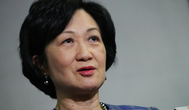 Regina Ip's proposal to cap shop rents at Hong Kong public housing estates run by Link Reit is labelled communist