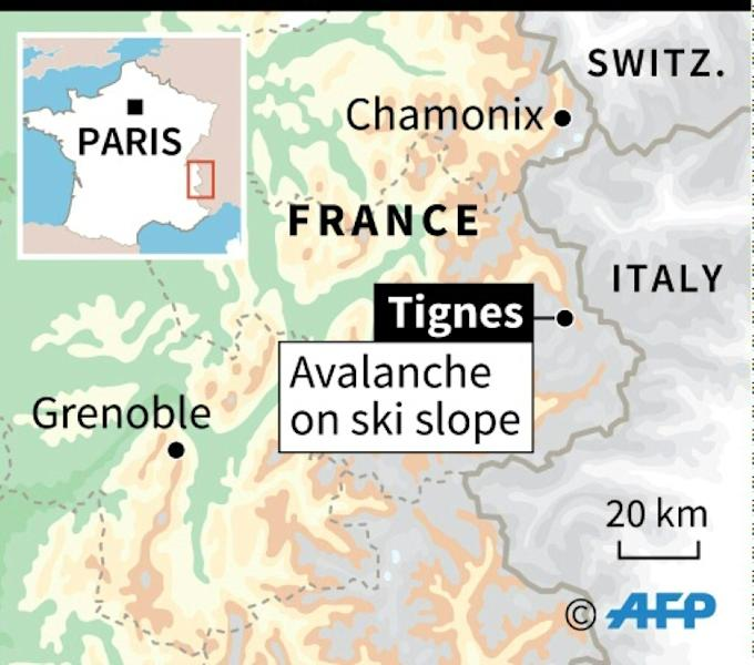 The latest avalanche is the 14th accident recorded in the French Alps and Pyrenees this winter, claiming a total of seven lives