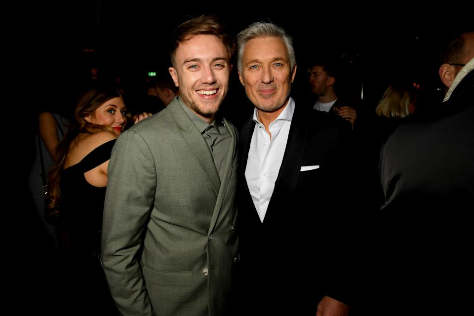 Roman Kemp and Martin Kemp attend the Sony BRITs after-party at The Standard on February 18, 2020 in London, England. (Photo by Dave J Hogan/Getty Images for Sony)