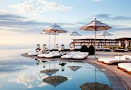 """<p>The <a href=""""https://www.rosewoodhotels.com/en/las-ventanas-los-cabos/offers/suite-sojourn?utm_source=google&utm_medium=sem&utm_campaign=nextguest-rwlvp-official_name_us_ex_10&utm_content=na&utm_term=na"""" rel=""""nofollow noopener"""" target=""""_blank"""" data-ylk=""""slk:Rosewood resort"""" class=""""link rapid-noclick-resp"""">Rosewood resort</a> in Mexico is helping Americans give thanks this year with a <em>Thanksgiving in Baja</em> package, which includes accommodations in a signature villa or residence (which start at 4,500 square feet and are equipped with a fire pit, infinity pool, and dedicated 24-hour villa host). Thanksgiving dinner will be served in-house and holiday-appropriate activities include a pie-making masterclass and a turkey trot—be sure to save room for the tequila-infused pumpkin pie. Feel iffy about getting on a plane? Go private with <a href=""""https://jetandmore.com/en/las-ventanas-al-paraiso-e85.html"""" rel=""""nofollow noopener"""" target=""""_blank"""" data-ylk=""""slk:LVP Wings"""" class=""""link rapid-noclick-resp"""">LVP Wings</a>, the hotel's new private charter service.</p><p><a class=""""link rapid-noclick-resp"""" href=""""https://go.redirectingat.com?id=74968X1596630&url=https%3A%2F%2Fwww.tripadvisor.com%2FHotel_Review-g152516-d270473-Reviews-Las_Ventanas_al_Paraiso_A_Rosewood_Resort-San_Jose_del_Cabo_Los_Cabos_Baja_California.html&sref=https%3A%2F%2Fwww.redbookmag.com%2Flife%2Fg34586101%2Fplaces-to-spend-thanksgiving%2F"""" rel=""""nofollow noopener"""" target=""""_blank"""" data-ylk=""""slk:Read Reviews"""">Read Reviews</a></p>"""