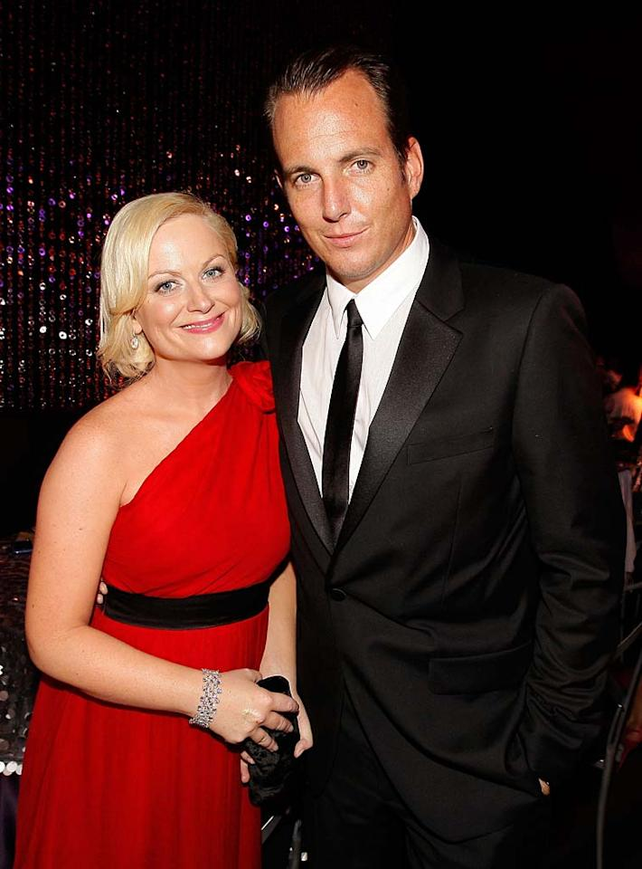 "Comedian Amy Poehler and her actor hubby Will Arnett expanded their family with the arrival of Abel James on August 6. Abel weighed in at 7 pounds, 13 ounces, and has a 2-year-old big brother named Archie. Christopher Polk/<a href=""http://www.gettyimages.com/"" target=""new"">GettyImages.com</a> - January 17, 2010"