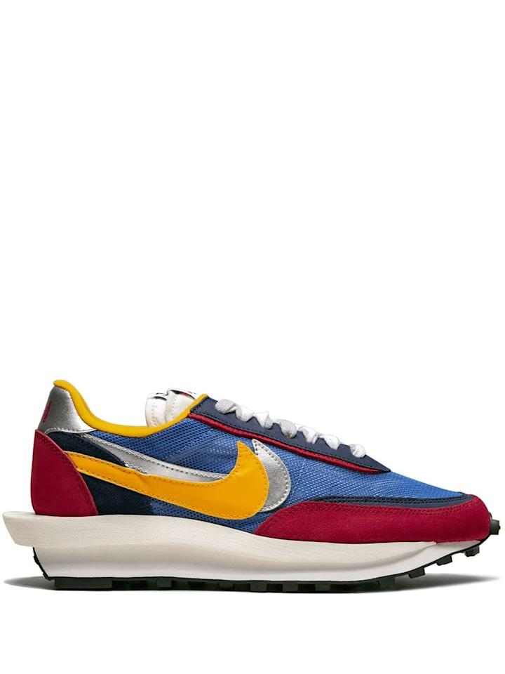 "<p><a href=""https://www.popsugar.com/buy/Nike-LDV-WaffleSacai-Sneaker-475596?p_name=Nike%20LDV%20Waffle%2FSacai%20Sneaker&retailer=farfetch.com&pid=475596&price=649&evar1=fab%3Aus&evar9=46454694&evar98=https%3A%2F%2Fwww.popsugar.com%2Ffashion%2Fphoto-gallery%2F46454694%2Fimage%2F46454730%2FNike-LDV-WaffleSacai-Sneaker&list1=shopping%2Csummer%2Cget%20the%20look%2Csummer%20fashion&prop13=mobile&pdata=1"" rel=""nofollow"" data-shoppable-link=""1"" target=""_blank"" class=""ga-track"" data-ga-category=""Related"" data-ga-label=""https://www.farfetch.com/shopping/women/nike-ldv-wafflesacai-sneaker-item-13964802.aspx?fsb=1&amp;storeid=11218&amp;size=31&amp;utm_source=google&amp;utm_medium=cpc&amp;utm_keywordid=72043021&amp;utm_shoppingproductid=13964802-4951&amp;pid=google_search&amp;af_channel=Search&amp;c=1449654389&amp;af_c_id=1449654389&amp;af_siteid=&amp;af_keywords=pla-424364973568&amp;af_adset_id=60554505110&amp;af_ad_id=277393252754&amp;af_sub1=72043021&amp;af_sub5=13964802-4951&amp;is_retargeting=true&amp;shopping=yes&amp;gclid=EAIaIQobChMI4rf4tZXs4wIVyICfCh2UZgd_EAQYASABEgLYX_D_BwE"" data-ga-action=""In-Line Links"">Nike LDV Waffle/Sacai Sneaker </a> ($649)</p>"