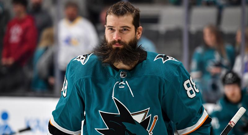 Lately, Brent Burns has not produced like many fantasy owners expected him to. (Photo by Brandon Magnus/NHLI via Getty Images)