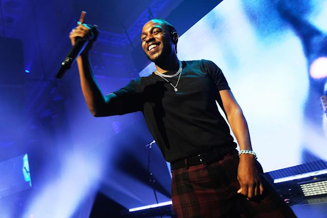 Kendrick Lamar's concert will be free and open to the public. (Getty Images)