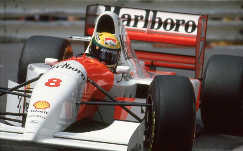 Bonhams sold Ayrton Senna's final Monaco Grand Prix-winning McLaren at auction on May 11