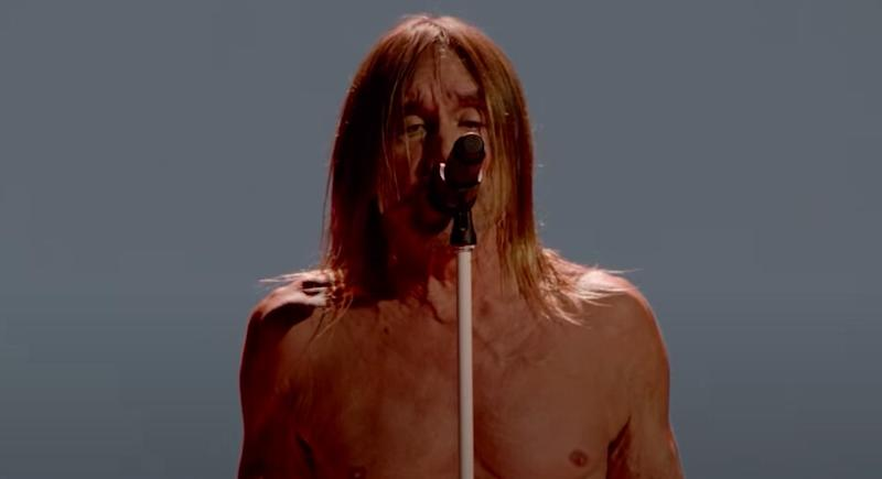 "Iggy Pop - ""Post Pop Depression Live At The Royal Albert Hall"" (capture d'écran YouTube)"