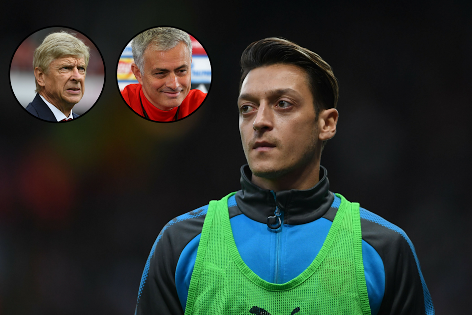 Gunning for a move: Mesut Ozil wants to join Manchester United, according to reports