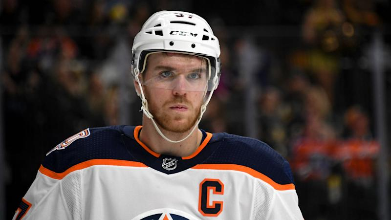 competitive price 9d2fa b3d56 Oilers captain McDavid has no timetable for return