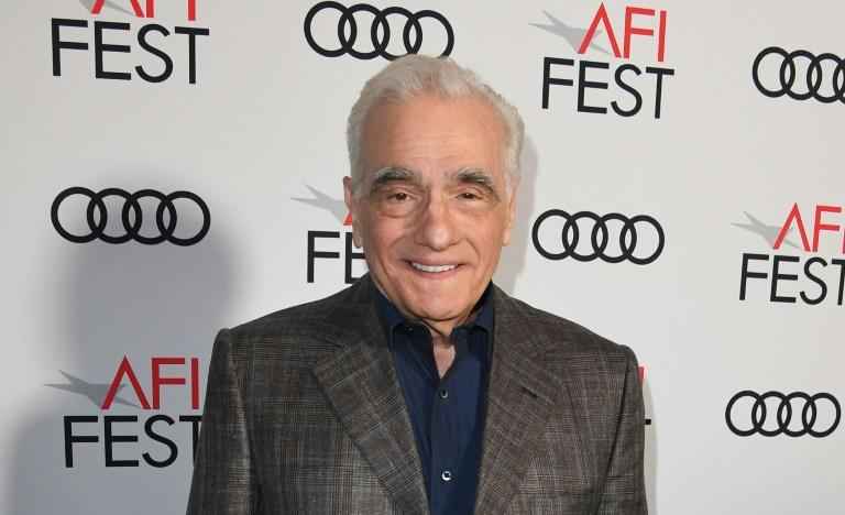 At an American Film Institute tribute event in Los Angeles, director Martin Scorsese discussed the long-standing collaborations of his Hollywood generation (AFP Photo/Mark RALSTON)
