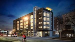 The Fifth by Arlington Street Investments will significantly increase the profile of this super urban corridor on Calgary's 17th Ave.                                           Photo Credit: Arlington Street Investments
