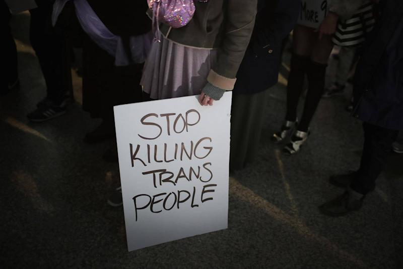 More murders of trans people have been recorded this year than ever before: Getty