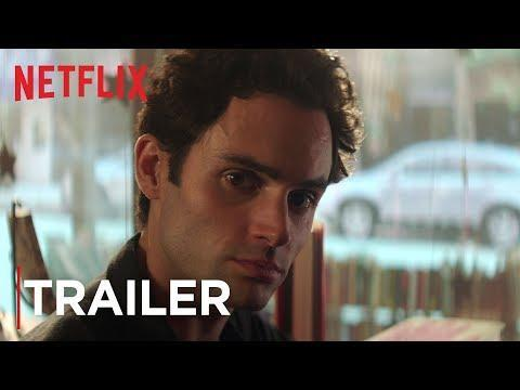 """<p>A crush between a bookstore manager and writer quickly takes a dark turn when Joe (Penn Badgley) becomes obsessed with his new girlfriend and is determined to get close to her at the expense of everyone who gets in the way of that.</p><p><a class=""""link rapid-noclick-resp"""" href=""""https://www.netflix.com/title/80211991"""" rel=""""nofollow noopener"""" target=""""_blank"""" data-ylk=""""slk:Watch"""">Watch</a></p><p><a href=""""https://www.youtube.com/watch?v=7ZtRnIwv_FY"""" rel=""""nofollow noopener"""" target=""""_blank"""" data-ylk=""""slk:See the original post on Youtube"""" class=""""link rapid-noclick-resp"""">See the original post on Youtube</a></p>"""