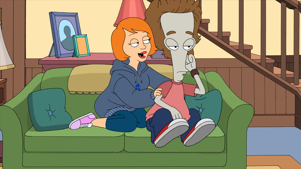 """Kristen Schaal makes a special guest voice appearance in the """"Hurricane!"""" episode of """"American Dad."""""""