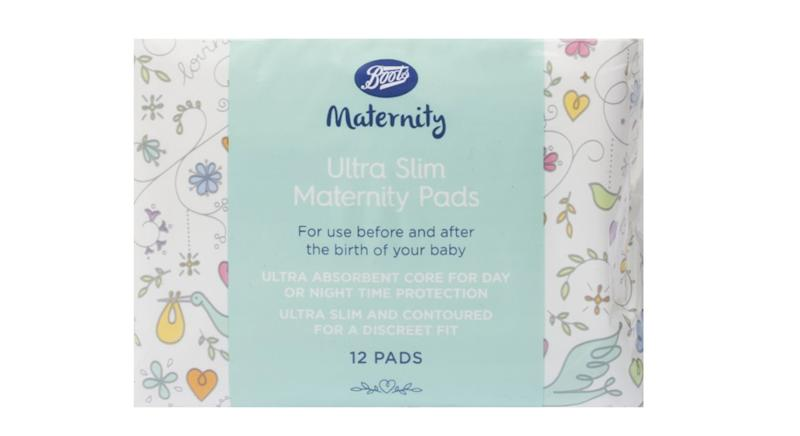 Boots Ultra Slim Maternity Pads