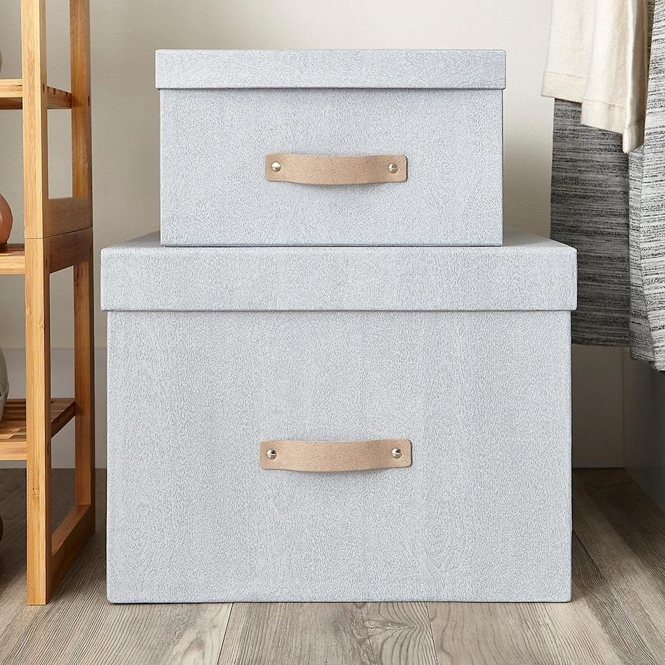 This one-two punch is the boxing solution you've been looking for. (Photo: The Container Store)