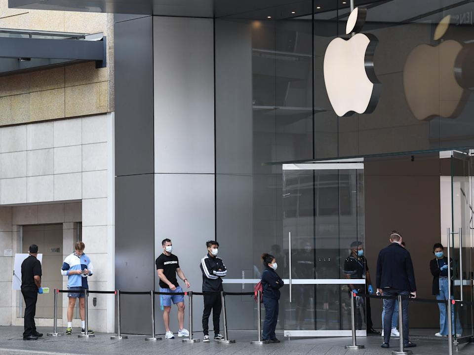 Apple announced it would re-close some stores.