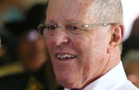 FILE PHOTO - Peru's President Pedro Pablo Kuczynski attends an event for Christmas in Lima, Peru, December 19, 2016. REUTERS/Mariana Bazo/File Photo