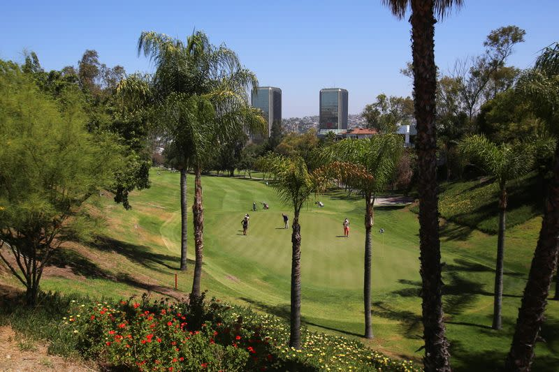 A general view of the Tijuana Country Club, in Tijuana
