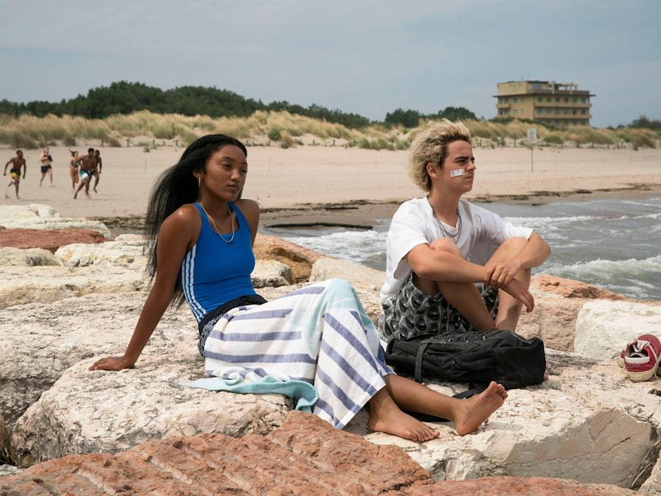 <p>HBO's We Are Who We Are takes place on a sun-baked military base that acts as a tiny pocket of America in Italy</p> (BBC/Fremantle)