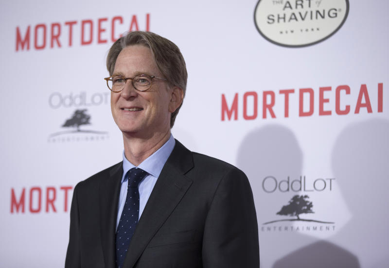 "Director of the movie David Koepp poses at the premiere of ""Mortdecai"" at the TCL Chinese theatre in Hollywood, California January 21, 2015. The movie opens in the U.S. on January 23. REUTERS/Mario Anzuoni (UNITED STATES - Tags: ENTERTAINMENT)"
