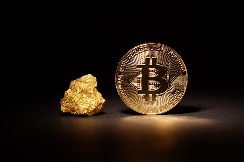Bitcoin's limited supply, its ease of use and a number of other factors make it a better asset than gold, according to Mark Yusko. Source: Shutterstock