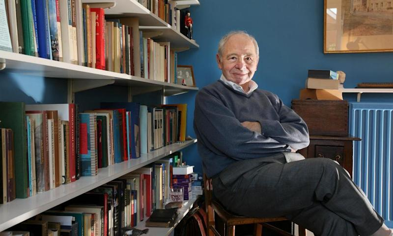Colin Dexter at his home in Oxford in 2007