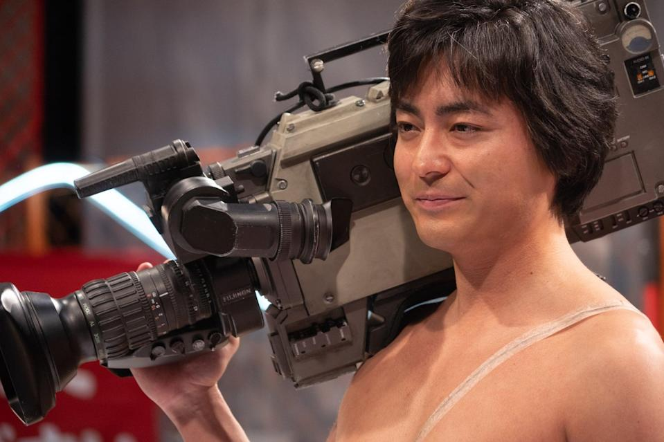 """<p>This series is based on Nobuhiro Motohashi's book of reportage about the real-life Toru Muranishi, an innovative and provocative director of Japanese adult videos who revolutionized the adult entertainment industry during the economic boom of 1980s Japan. </p> <p><a href=""""http://www.netflix.com/title/80239462"""" class=""""link rapid-noclick-resp"""" rel=""""nofollow noopener"""" target=""""_blank"""" data-ylk=""""slk:Watch The Naked Director on Netflix now"""">Watch <strong>The Naked Director</strong> on Netflix now</a>.</p>"""