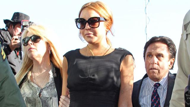 Lindsay Lohan Races Back to LA