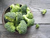 "<p>Cruciferous vegetables, like broccoli, are high in all of the four magic compounds that help lower blood pressure—calcium, potassium, magnesium, and <a href=""https://www.prevention.com/food-nutrition/g20511745/9-foods-with-more-vitamin-c-than-an-orange/"" rel=""nofollow noopener"" target=""_blank"" data-ylk=""slk:vitamin C"" class=""link rapid-noclick-resp"">vitamin C</a>. <a href=""https://www.ncbi.nlm.nih.gov/pmc/articles/PMC3127519/"" rel=""nofollow noopener"" target=""_blank"" data-ylk=""slk:Studies"" class=""link rapid-noclick-resp"">Studies</a> have shown that diets high in cruciferous vegetables have led to lower levels of heart disease and <a href=""https://www.prevention.com/health/sleep-energy/g26514697/increase-life-expectancy/"" rel=""nofollow noopener"" target=""_blank"" data-ylk=""slk:longevity"" class=""link rapid-noclick-resp"">longevity</a>.</p><p><strong>Try it:</strong> To get the most nutrients out of your broccoli, or any cruciferous veggie, try the ""hack and hold"" method: Chop up your vegetable and let it sit for about 40 minutes to allow the inflammation-fighting enzymes to release, then cook or eat the vegetable as you would.<br></p>"