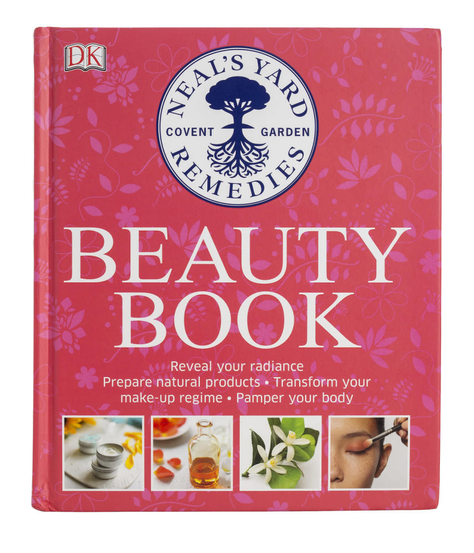 "<p>This bestselling book from the UK-based organic beauty brand finally came stateside — and it does not disappoint with over 100 DIY recipes and step-by-step guides to ingredients. Think of it as the ultimate encyclopedia for natural beauty. <b><a href=""https://us.nyrorganic.com/shop/corp/product/9344/neal-s-yard-natural-beauty/"" rel=""nofollow noopener"" target=""_blank"" data-ylk=""slk:Neal's Yard Natural Beauty Book"" class=""link rapid-noclick-resp"">Neal's Yard Natural Beauty Book</a> ($25)</b></p>"