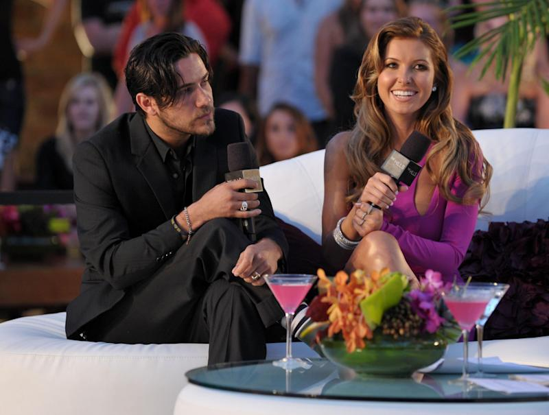 Audrina and Justin Bobby (Getty Images)