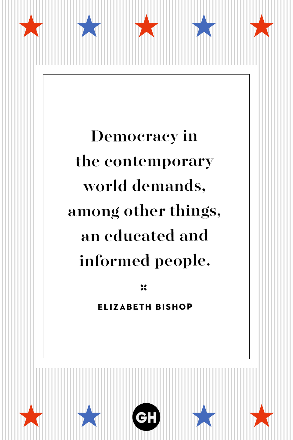 <p>Democracy in the contemporary world demands, among other things, an educated and informed people.</p>