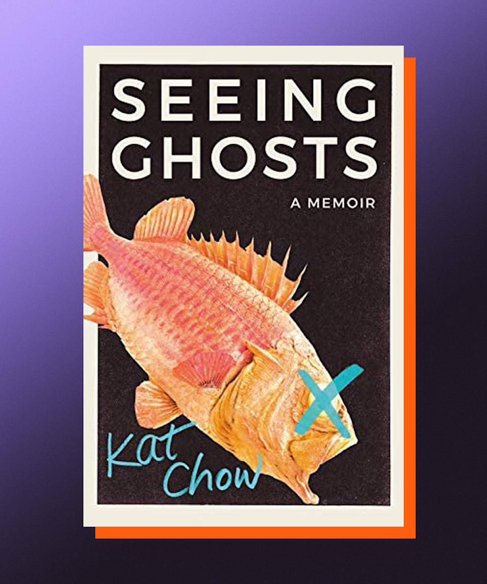 """<strong><em>Seeing Ghosts</em>, Kat Chow (</strong><a href=""""https://bookshop.org/books/seeing-ghosts-a-memoir/9781538716328"""" rel=""""nofollow noopener"""" target=""""_blank"""" data-ylk=""""slk:available August 24"""" class=""""link rapid-noclick-resp""""><strong>available August 24</strong></a><strong>)</strong><br><br>Being part of a family means being privy to a series of longstanding inside jokes — the darker they are, the closer your family probably is. In Kat Chow's family, one such joke was that her mother wanted, upon her death, to have her body preserved and put on display in Chow's apartment — a taxidermy guardian angel of sorts, always watching over her daughter. Chow's mother died young, and the grief that followed for Chow, her sisters, and her father, was an impetus for writing <em>Seeing Ghosts</em>, a deeply felt, indelibly moving memoir that traces the lives of generations of Chow's family, as they emigrated across the world. This memoir is an excavation of a family's history, but it's also a reclamation of sorts, a reminder that our stories stretch out far past the edges of our own lives, and that there is comfort to be discovered in their reach, beauty to be found in their embrace."""