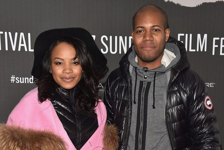 Chanté Adams and Michael Larnell at Sundance (Getty Images)