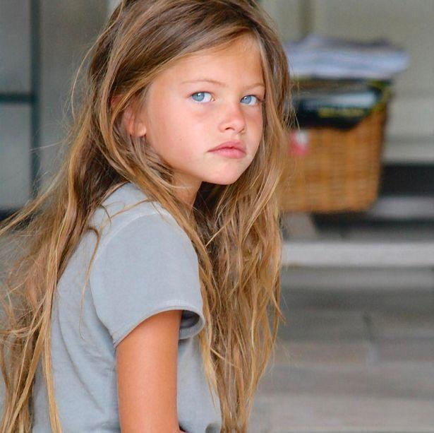 Anastasia is being compared to Thylane Blondeau who was previoulsy called the most beautiful girl in the world. Photo: Instagram