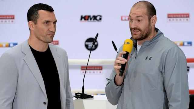 "Tyson Fury has been strongly criticised by Wladimir Klitschko, who said: ""Either he needs to be shut up ... or he needs to be suspended."""
