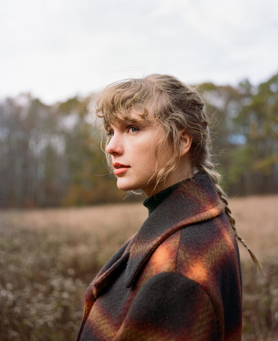 "Taylor Swift is marking the milestone of her 31st birthday with album ""Evermore."""