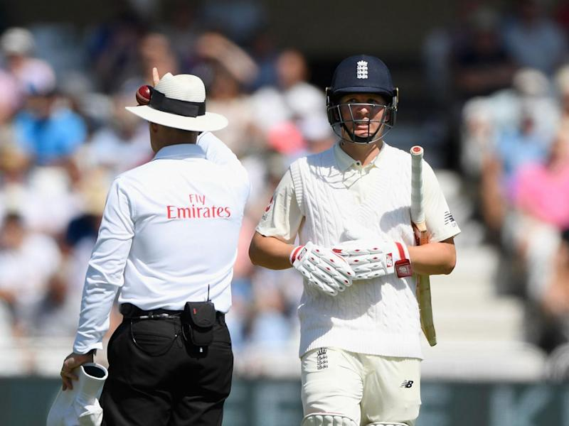 Gary Ballance's place is likely to be in question for next week's Test (Getty)