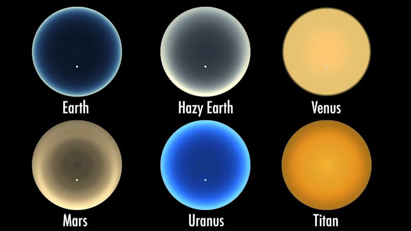 NASA's planetary scientist create a simulation to show how the different sunsets looks like on various planets