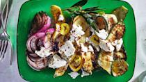 """<a href=""""https://www.bonappetit.com/recipe/grilled-summer-squash-and-red-onion-with-feta?mbid=synd_yahoo_rss"""" rel=""""nofollow noopener"""" target=""""_blank"""" data-ylk=""""slk:See recipe."""" class=""""link rapid-noclick-resp"""">See recipe.</a>"""