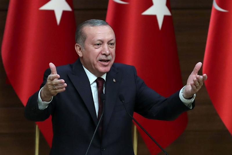 Turkish President Recep Tayyip Erdogan has attacked a committee which has a one in five quota for gay candidates, a rare occasion where he has mentioned homosexuality