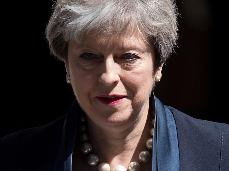 May shed a 'little tear' over election failure