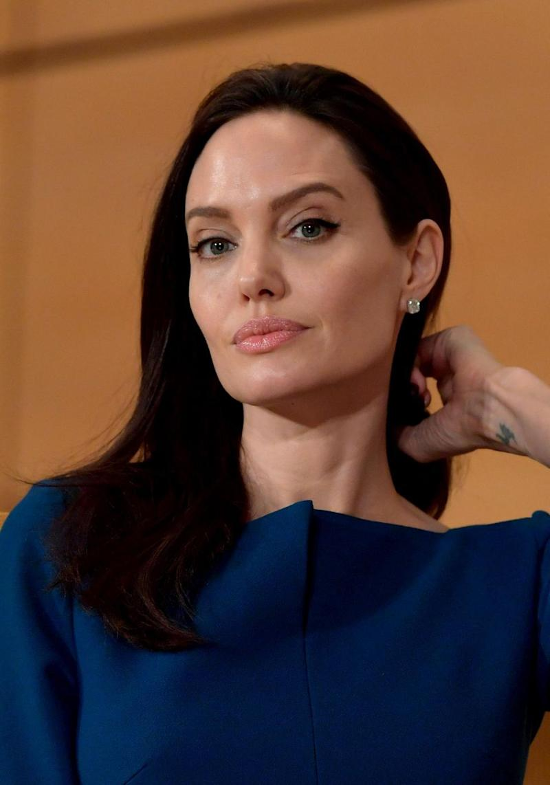 Angelina sent a heartfelt message to the younger generation about human rights. Source: Getty