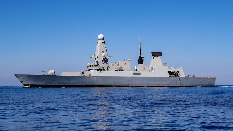 Royal Navy destroyer returns from defending British shipping in Hormuz Strait