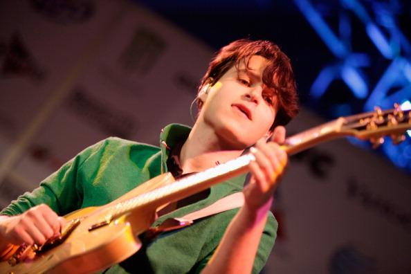 Musician Ezra Koenig of Vampire Weekend performs onstage at Radio Day Stage during the 2013 SXSW Music, Film + Interactive Festival at Austin Convention Center on March 15, 2013 in Austin, Texas.