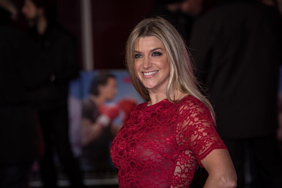 """Anna Williamson poses for photographers upon arrival at the premiere of the film """"Daddy's Home"""" in London, Wednesday, Dec. 9, 2015. (Photo by Vianney Le Caer/Invision/AP)"""