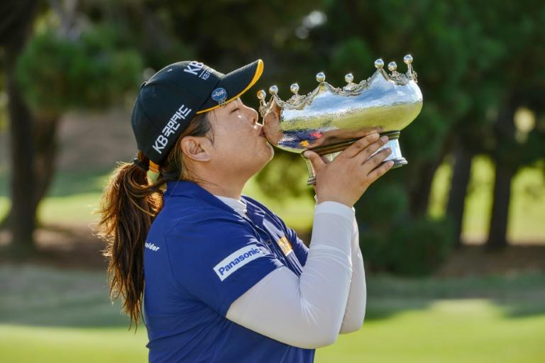 Park In-bee of Korea won her 20th LPGA tournament with victory in the Australian Open